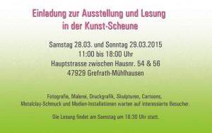 Ausstellung und Lesung